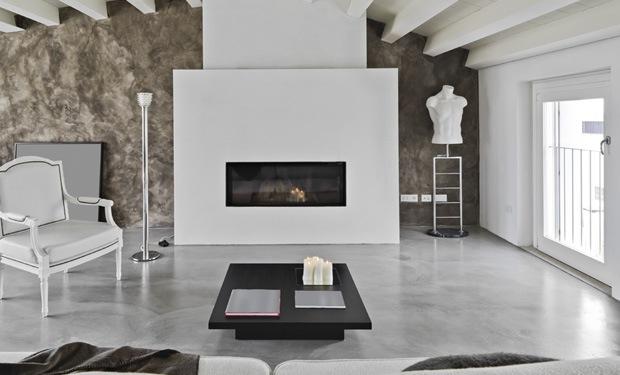 Beton cire vloer met betonlook prijs realisaties for Betonstuc zelf aanbrengen
