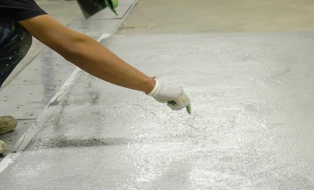 cementvloer gieten