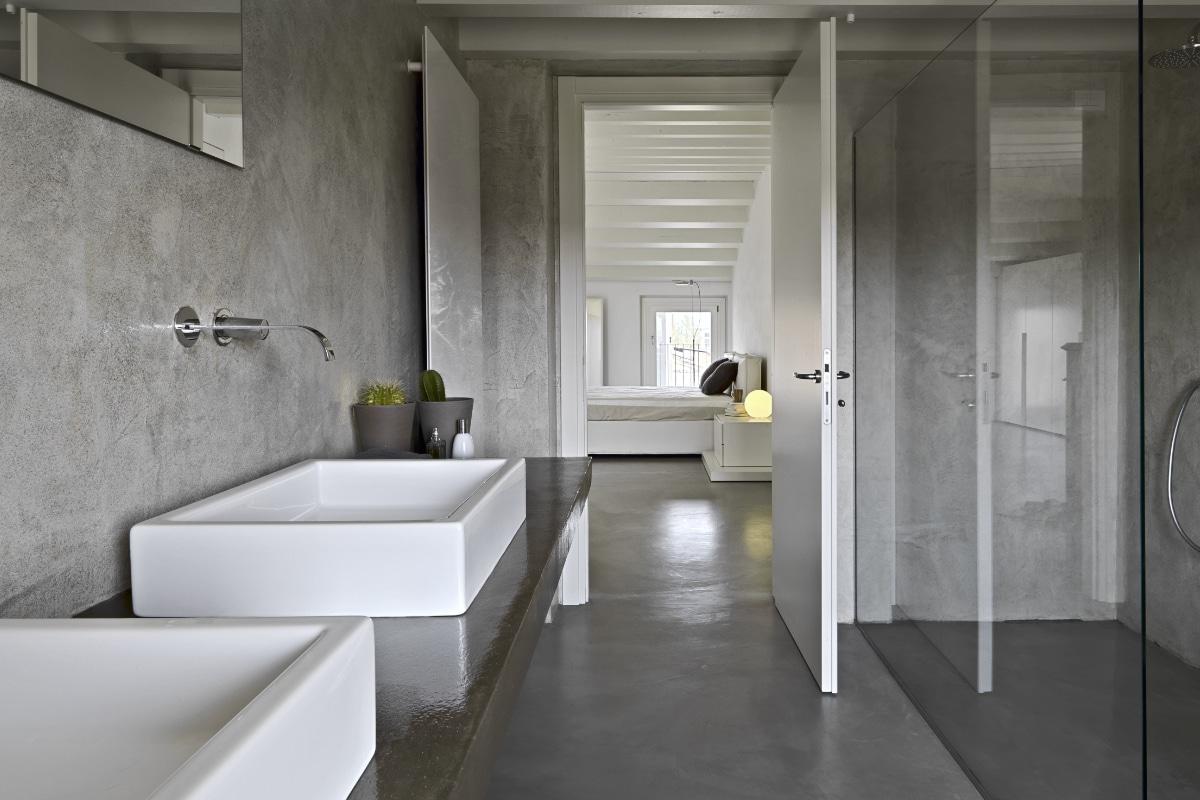 gietvloer in de badkamer inspiratie amp prijs
