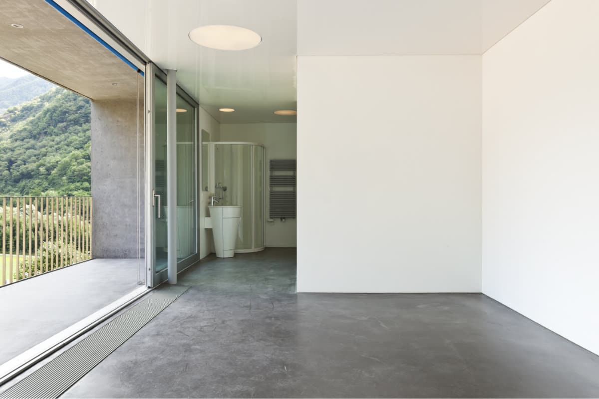 betonlook concrete vloertegel betonlook x cm m with. Black Bedroom Furniture Sets. Home Design Ideas