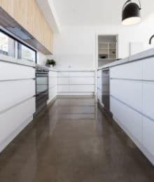 cementgebonden gietvloer keuken