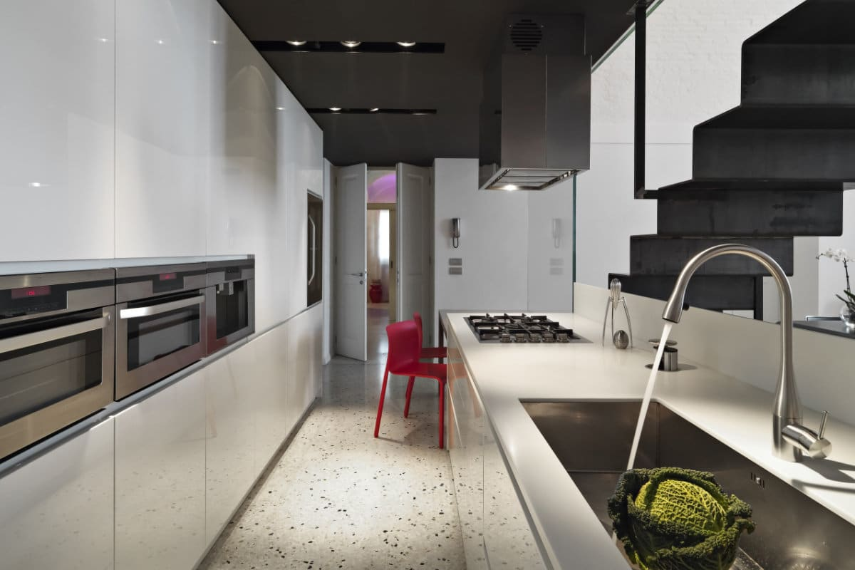 Terrazzo vloer: info - realisaties & prijs per vierkante meter